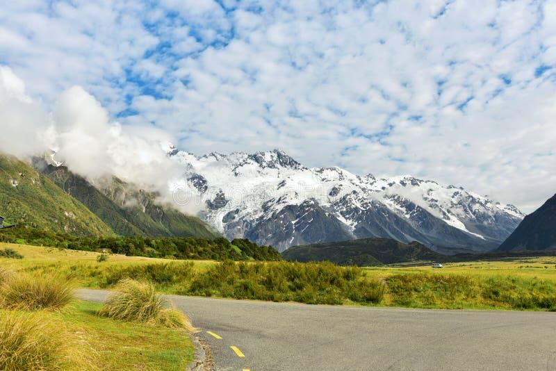 Cuisinier de Mt, Nouvelle Zélande photographie stock libre de droits