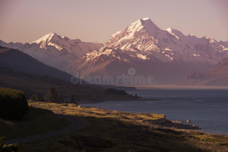 Cuisinier de Mt - Nouvelle Zélande image stock
