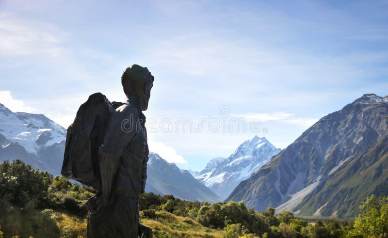 Cuisinier de support, île du sud, Nouvelle Zélande photo libre de droits