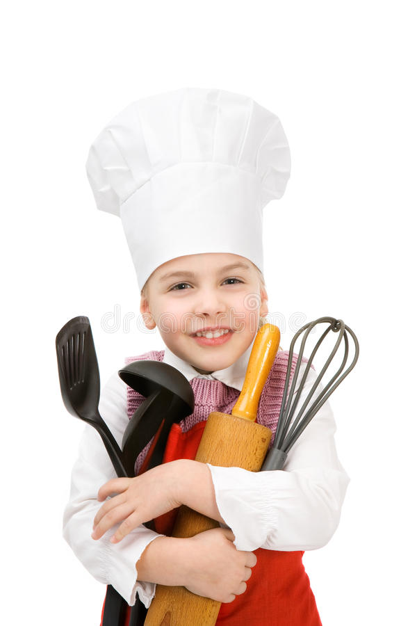 Cuisinier junior photos libres de droits