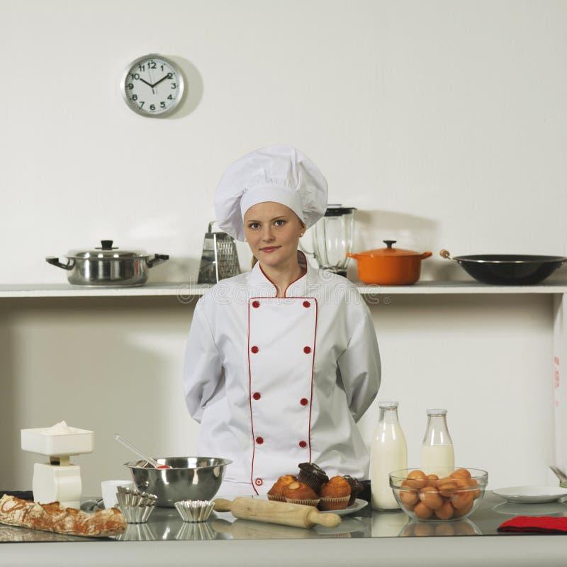 Cuisinier professionnel photographie stock libre de droits