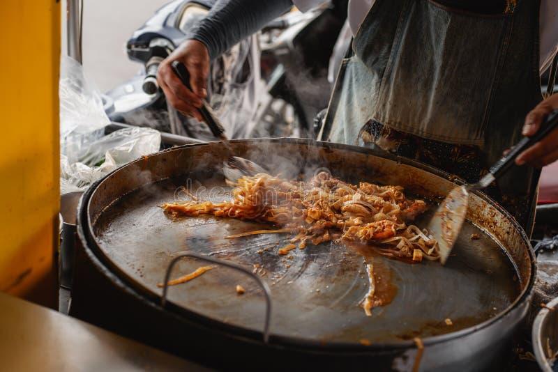 Cuisinier thaïlandais Pattaya image libre de droits