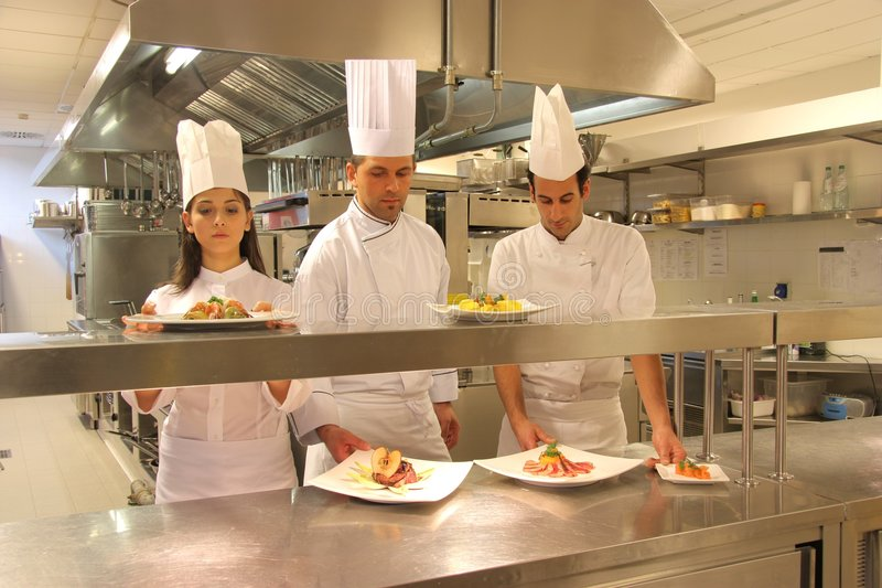 Cuisiniers Images stock