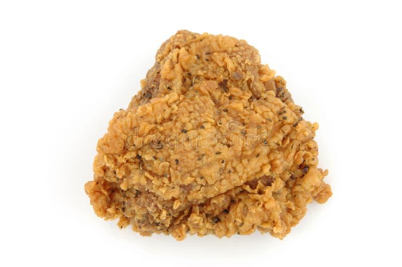 Cuisse de poulet frit (ail et herbe) images stock