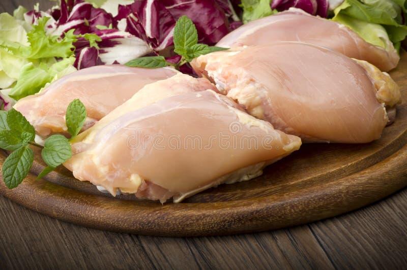 Cuisses de poulet images libres de droits