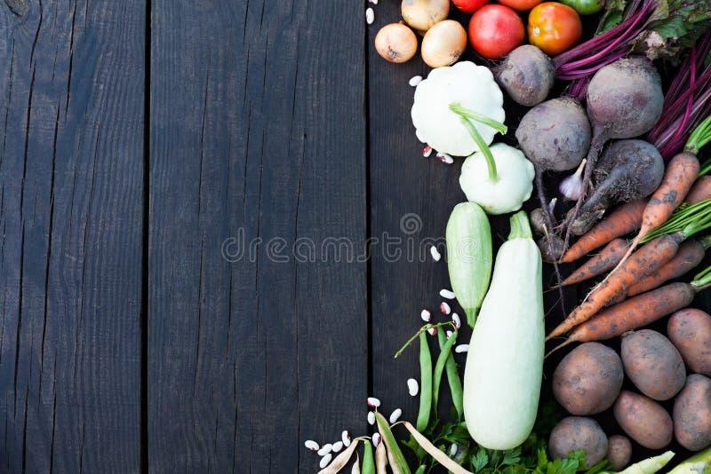 Cuisson du potage aux légumes, cours végétarien organique Ingr?dients de Detox photo libre de droits