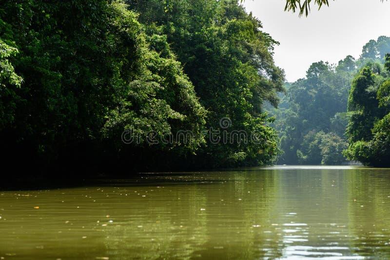 Cukang Taneuh i Java Central, Indonesien royaltyfria foton