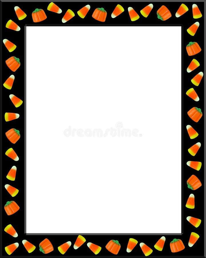 cukierek rabatowa kukurudza Halloween royalty ilustracja