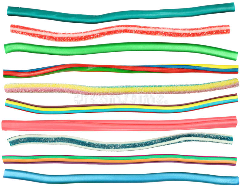 Cukierków kable obrazy stock
