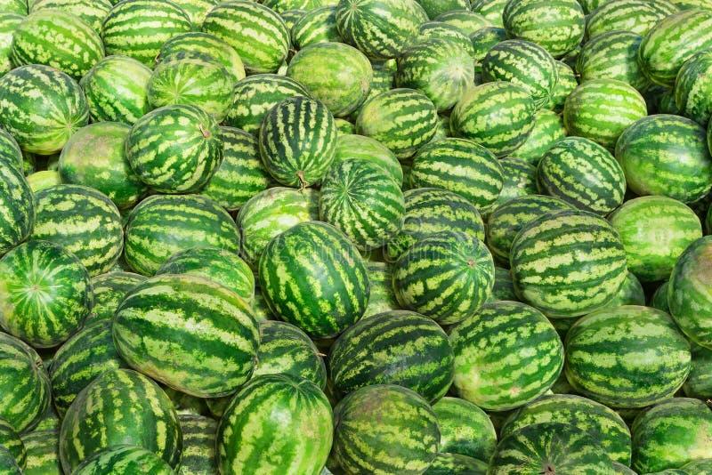 Cukierków zieleni arbuzy zdjęcie stock