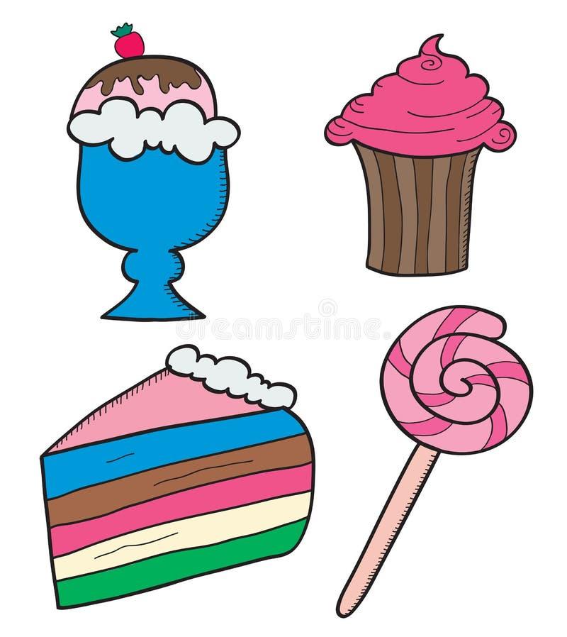 Cukierki ilustracja wektor