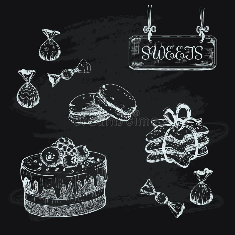cukierki royalty ilustracja