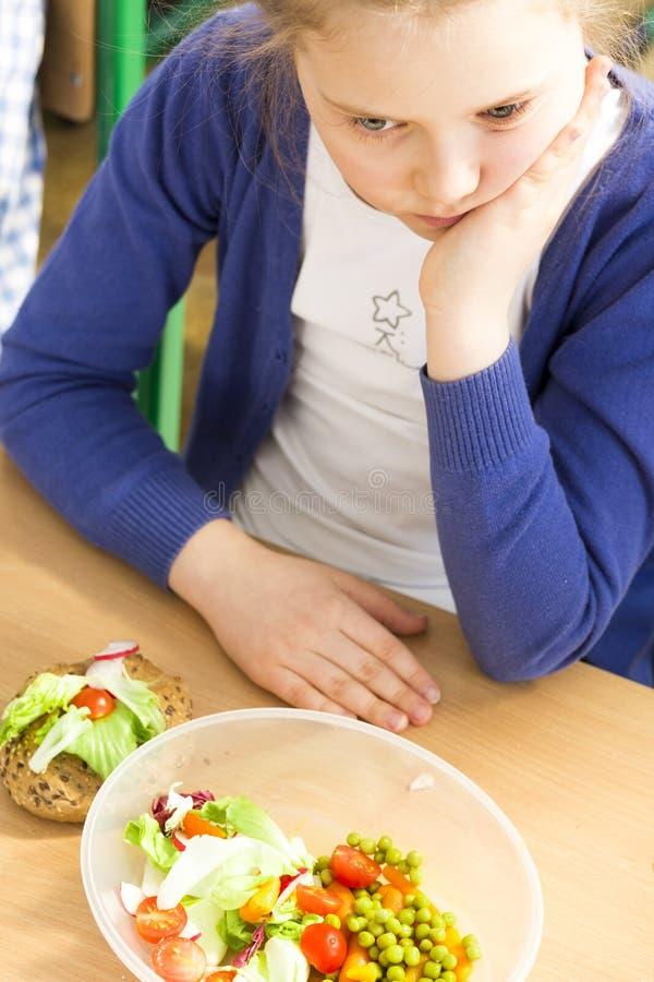 Cukierki byli lepszy dla lunchu zdjęcie royalty free