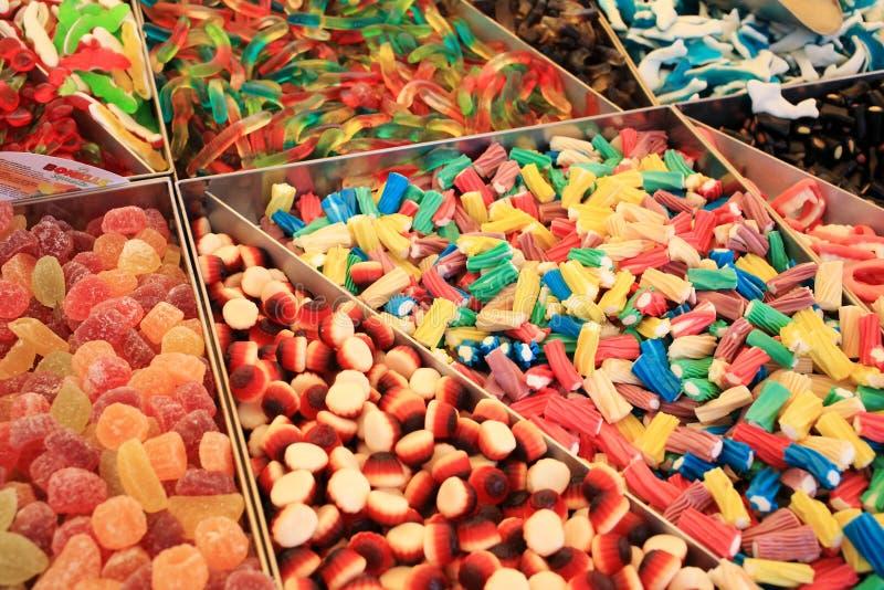 Cukierki i cukierki fotografia stock