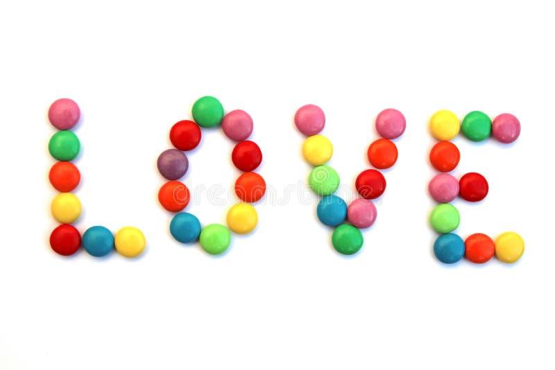 cukierki miłości, ale obraz stock