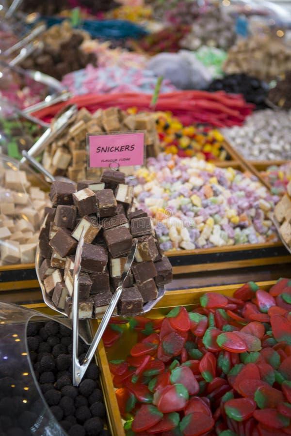 Cukierki przy rynkiem zdjęcie royalty free
