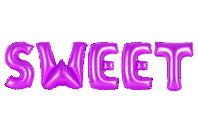 Cukierki, purpura kolor obraz stock