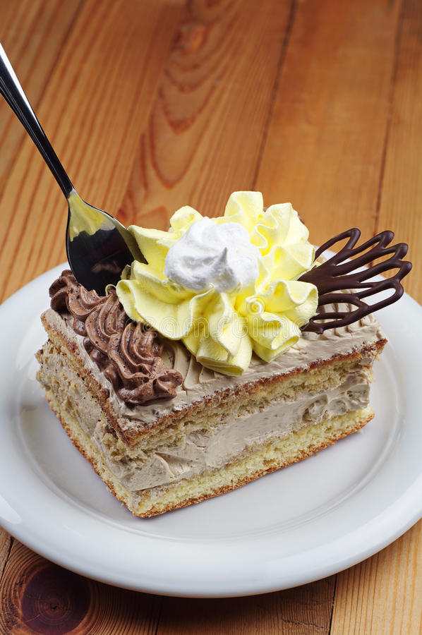 Cukierki tort obrazy stock