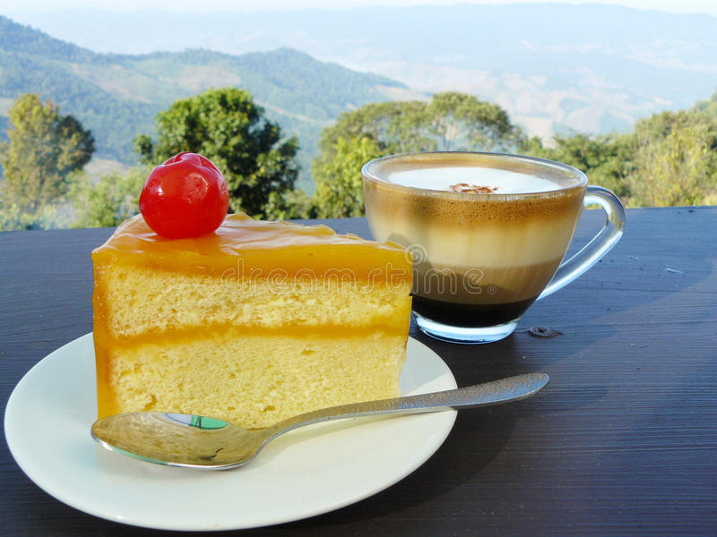 Cukierki tort zdjęcie stock