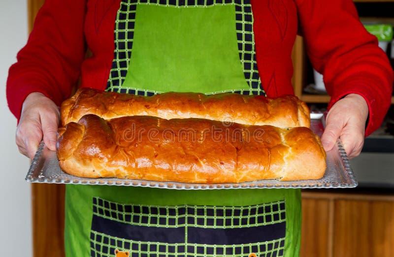 Cukierki węgierski chleb zdjęcie stock
