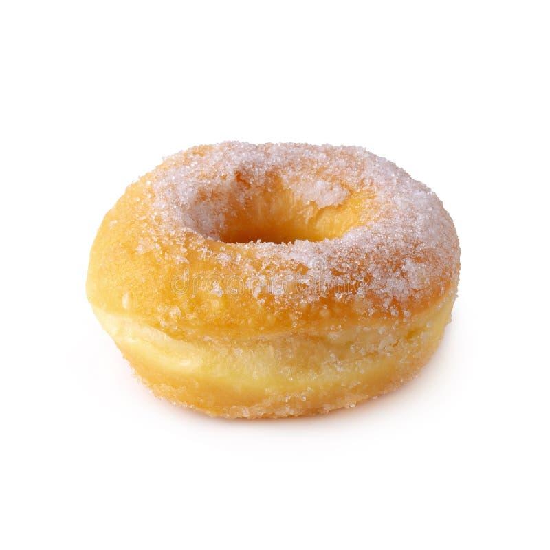 Cukierkowi donuts odizolowywający nad białym tłem zdjęcie stock