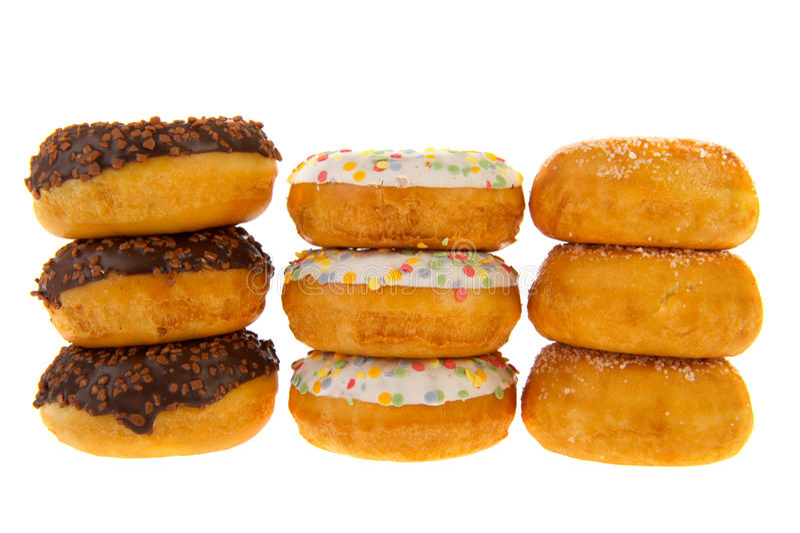 cukierkowy donuts cukierki fotografia royalty free