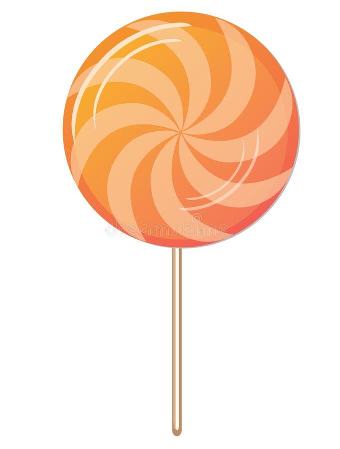 cukierku twirl ilustracja wektor