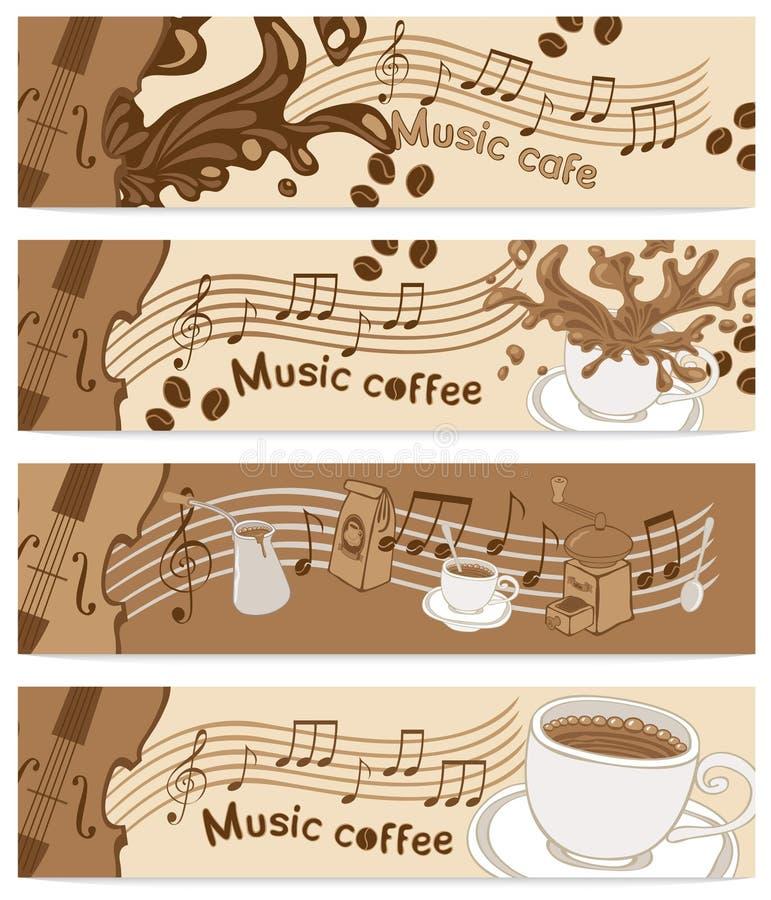 cukierniana muzyka ilustracja wektor