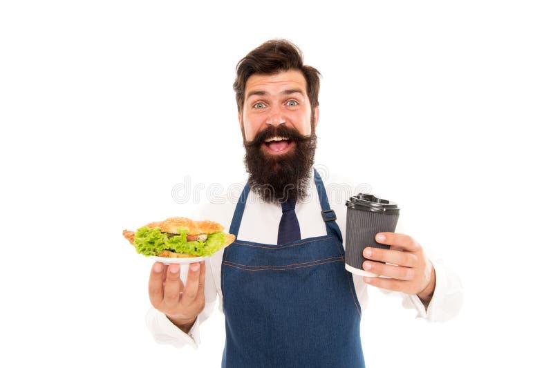 Cukierniany karmowy pojęcie smacznego twoje Facet porcji croissant faszerował sałaty i świeżych warzyw zdrowa ?ywno?? Combo posił fotografia stock