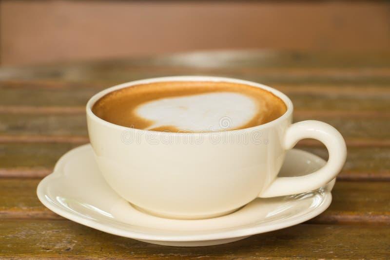 Cukierniany Latte zdjęcie stock