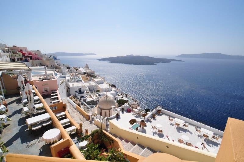 Cukierniany Santorini zdjęcie royalty free