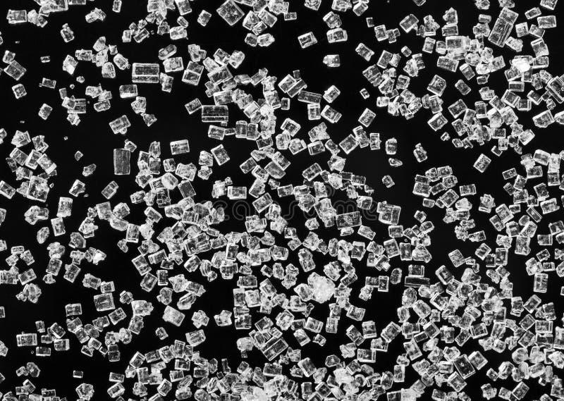 Cukrowi kryształy obrazy royalty free