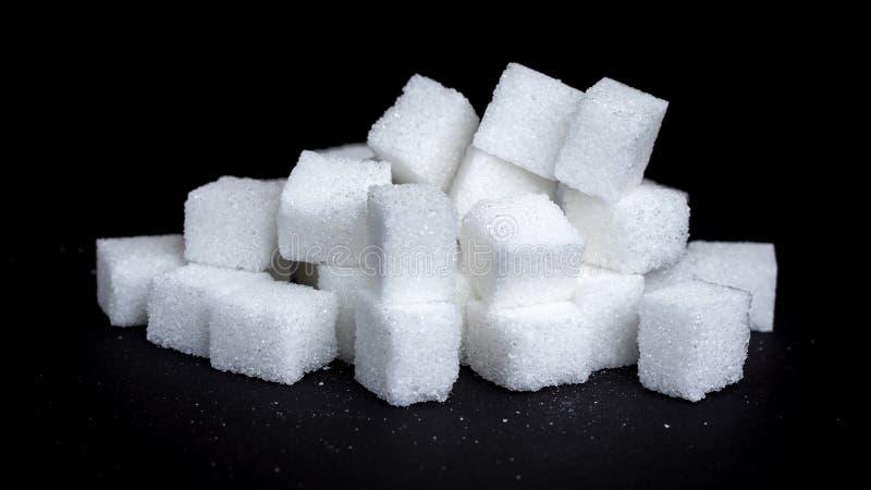 Cukrowi sześciany zdjęcia stock