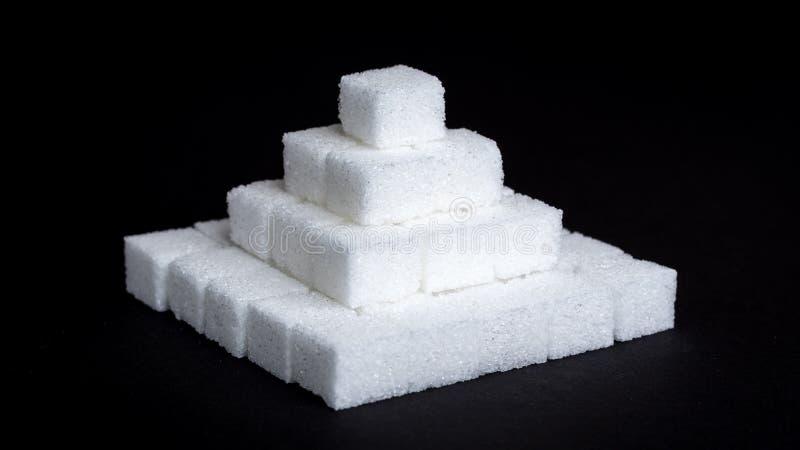 Cukrowi sześciany obrazy royalty free