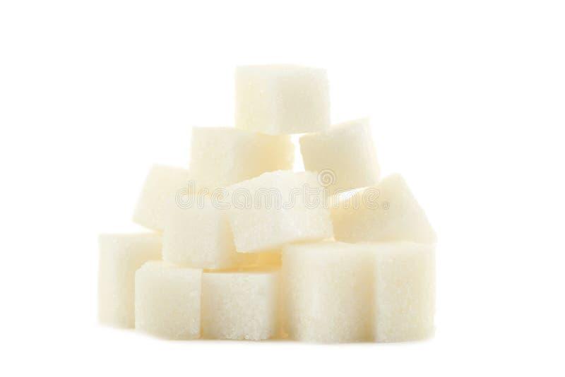 Cukrowi sześciany zdjęcie royalty free