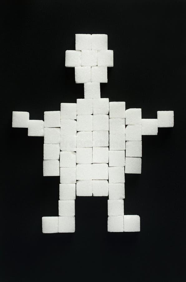 Cukrowy mężczyzna obrazy stock