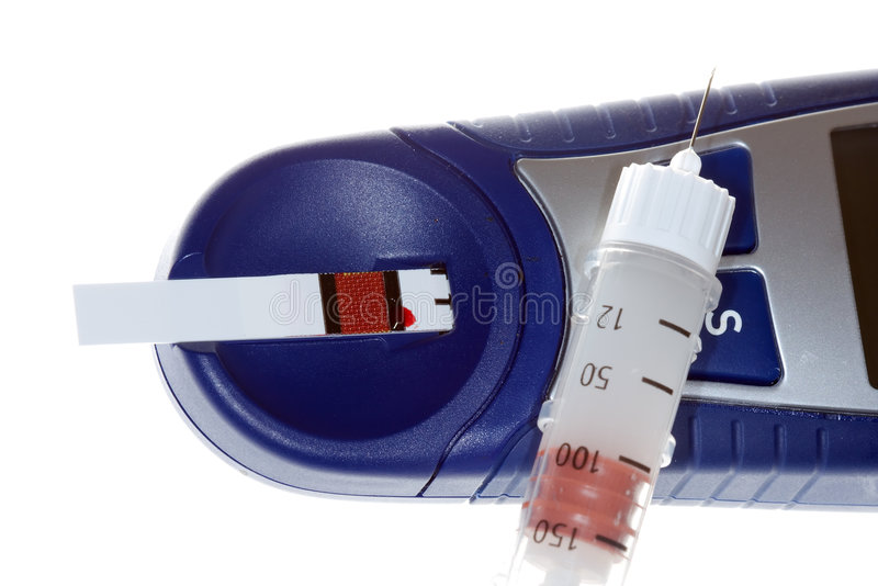 cukrzycy sprzętu obrazy stock