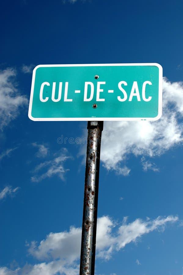 Free Cul-de-sac Sign Stock Photo - 11733990