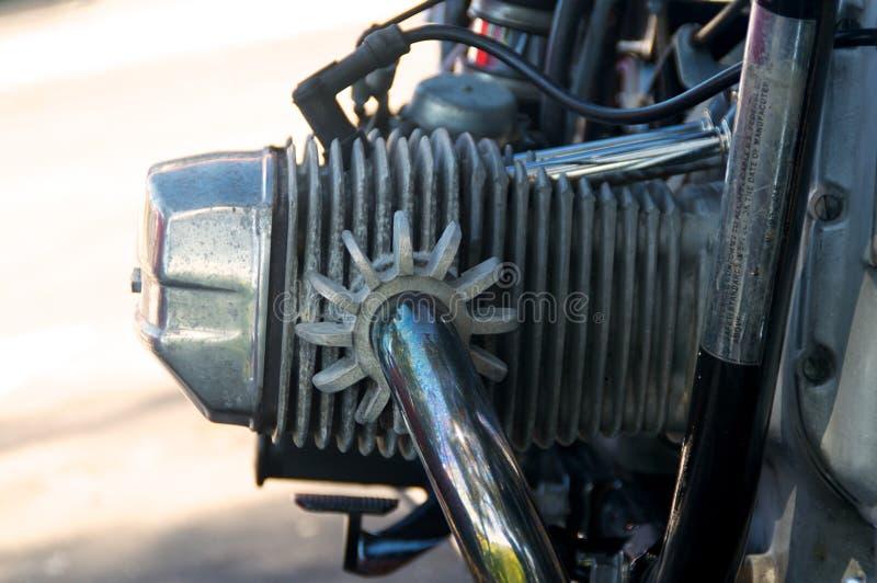 Culata De La Motocicleta Del Vintage Imagenes de archivo