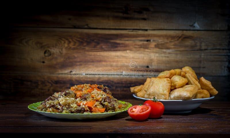 Culinária asiática central fotos de stock