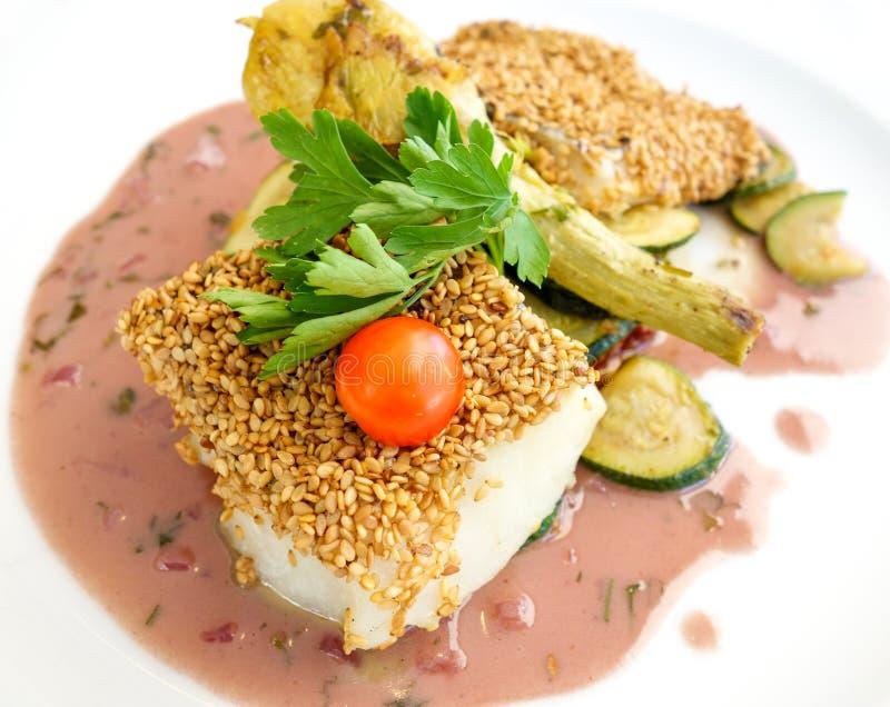Culinária de jantar fina fotografia de stock royalty free