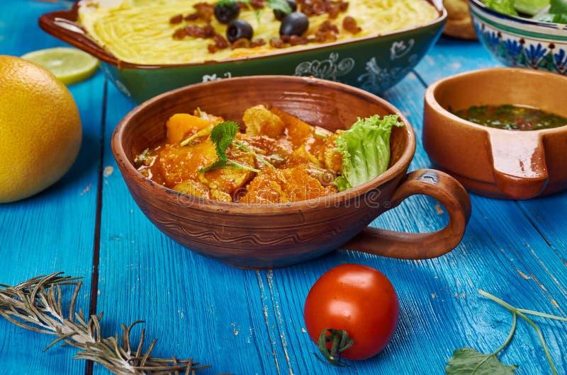 Culinária de Maghreb fotografia de stock royalty free