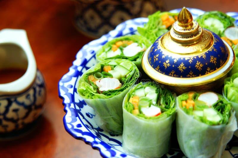Culinária de Tailândia imagens de stock royalty free