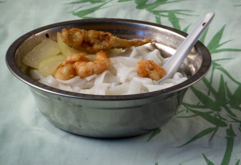 Culinária do macarronete de Guangzhou fotografia de stock royalty free