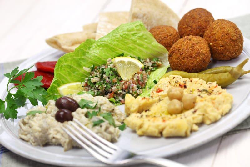 Culinária do Oriente Médio imagem de stock royalty free