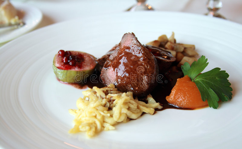 Culinária fina imagens de stock royalty free