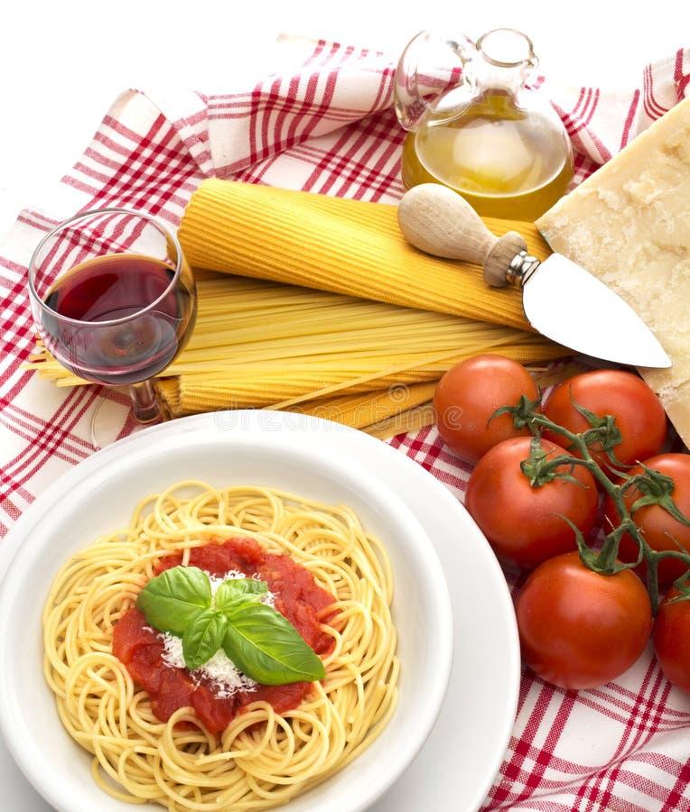 Culinária italiana imagem de stock royalty free
