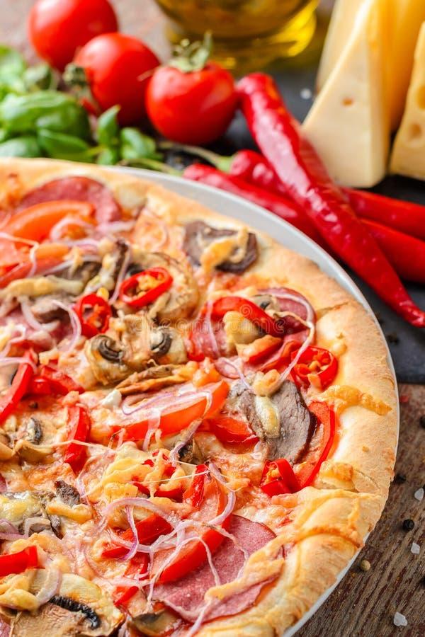 Culinária italiana tradicional Petiscos Savory fotos de stock royalty free