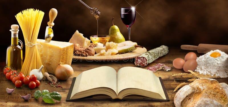 Culinária mediterrânea imagem de stock