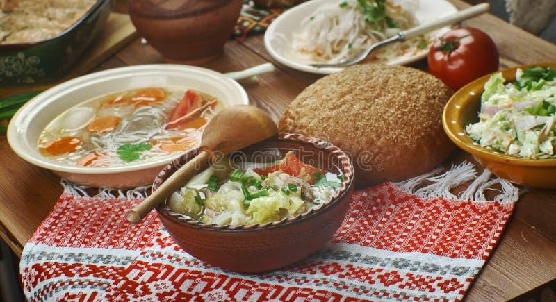 Culinária polonesa fotos de stock royalty free